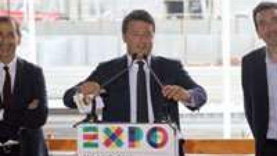 Expo 2015, Renzi a Milano: il 90% del lavoro è fatto