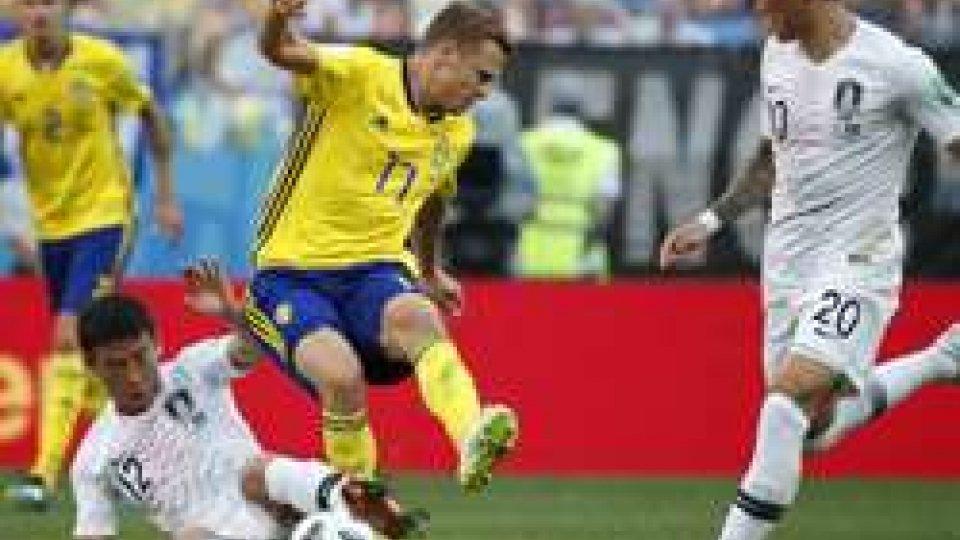 Svezia di rigore sulla Corea del Sud: 1-0