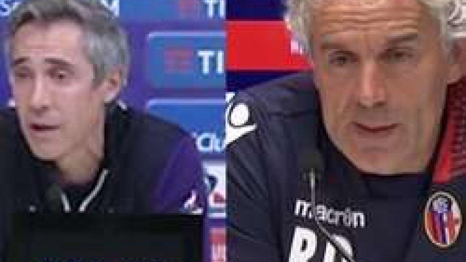 Paulo Sousa - Roberto DonadoniBologna-Fiorentina: le interviste agli allenatori del derby dell'appennino