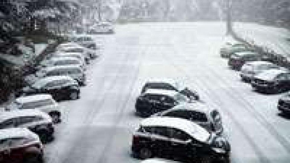 Mattinata di neve sul TitanoMattinata di neve sul Titano