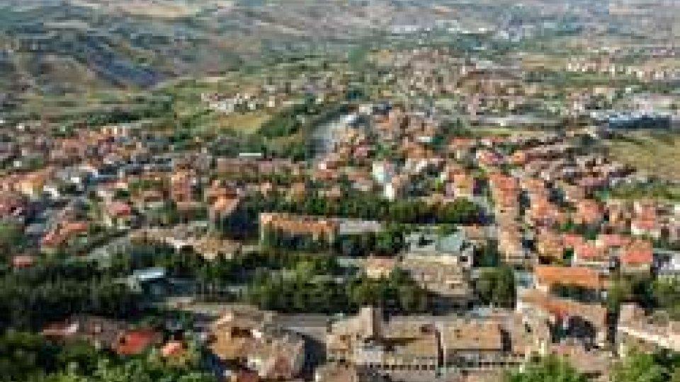 Il panorama visto dal Cantone della Funivia