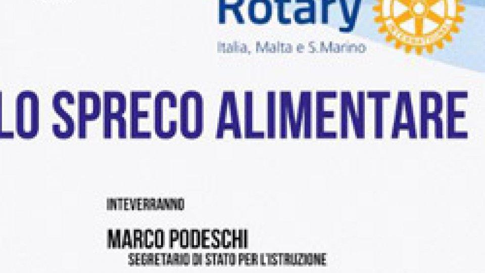 Rotary: domani si parla di Spreco Alimentare con gli studenti delle scuole medie