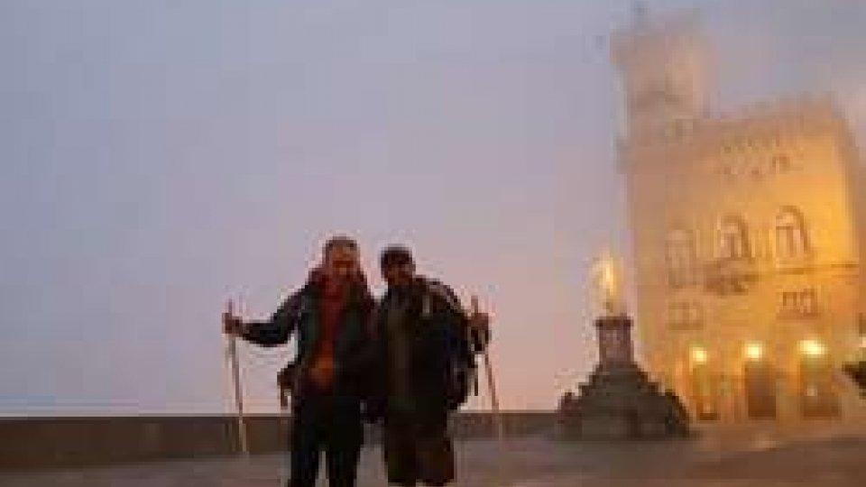 La partenza di Giovanni Francesco Ugolini e Daniele Albani