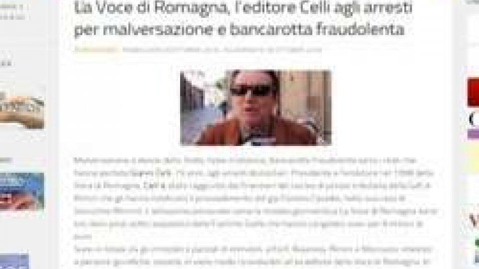 sito ASERCaso Celli, articolo su sito ASER mette in fila gli eventi