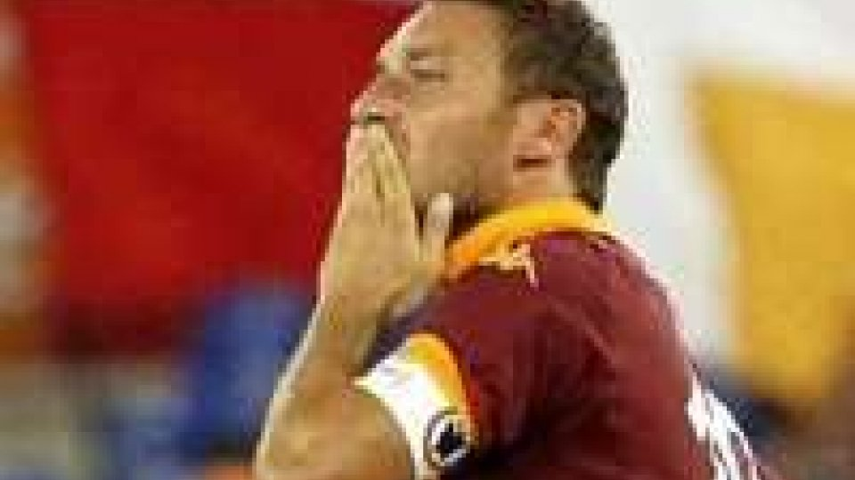 216 volte Totti, è il terzo di sempre