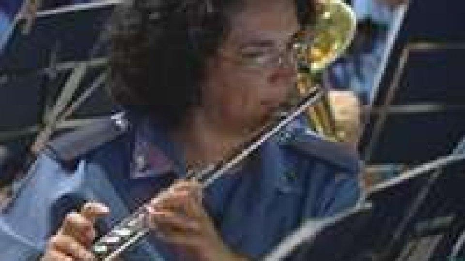 Concerti d'Estate: protagonista la Banda Militare sammarinese.