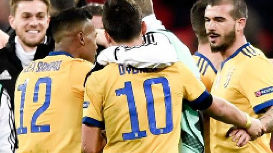 Champions: impresa Juventus, Wembley è bianconera