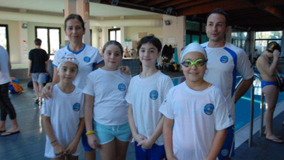La Domus Nuoto Pinnato chiude il 2018 in bellezza