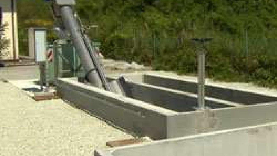 Il nuovo filtrococlea in Strada RagnanoTorrente San Marino: un nuovo sollevatore per evitare sversamenti di liquami