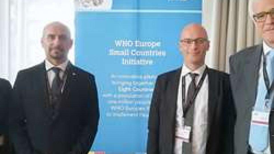 """Delegazione sammarinese al Meeting Piccoli Paesi dell'OMSMeeting Piccoli Paesi dell'OMS in Islanda. """"Lo sviluppo sostenibile non è una opzione, è l'unica opzione"""""""