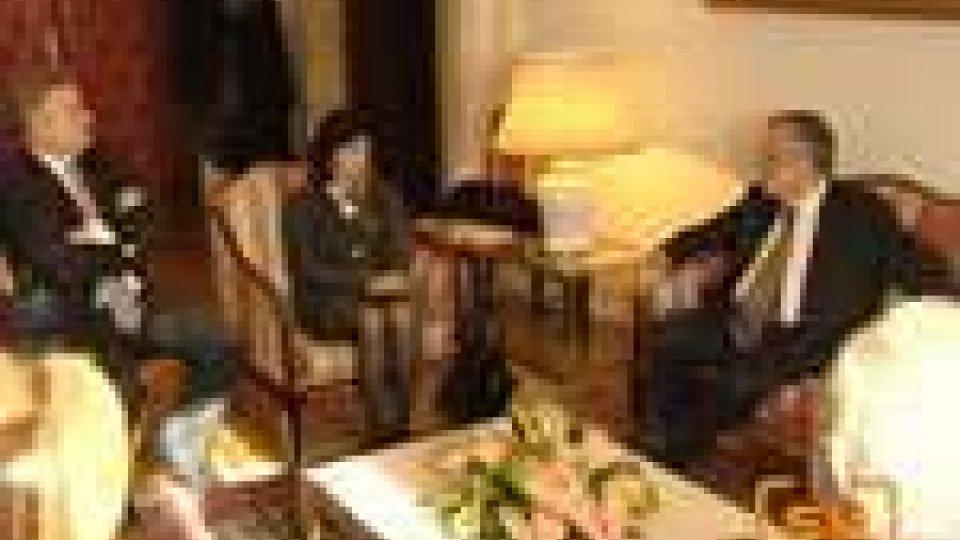 San Marino - Concluso l'incontro a Roma tra i Segretari Mularoni e Morri con il Ministro Riccardi