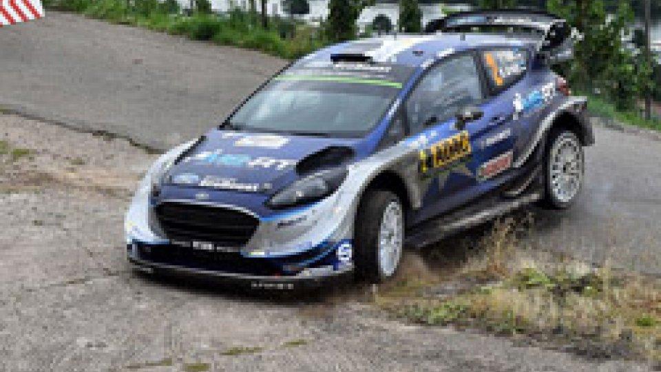 Tanak: il Rally di Germania è suoWRC, ancora Tanak: il Rally di Germania è suo