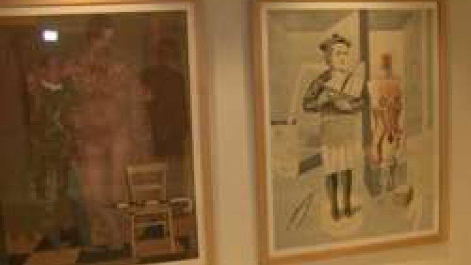 Alcune delle opere in mostraPesaro: in mostra l'arte di Orthmann fino al 28 novembre a Ca' Pesaro 2.0