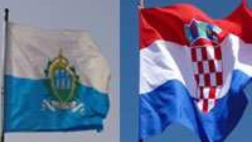 Firmati oggi due accordi con la Croazia