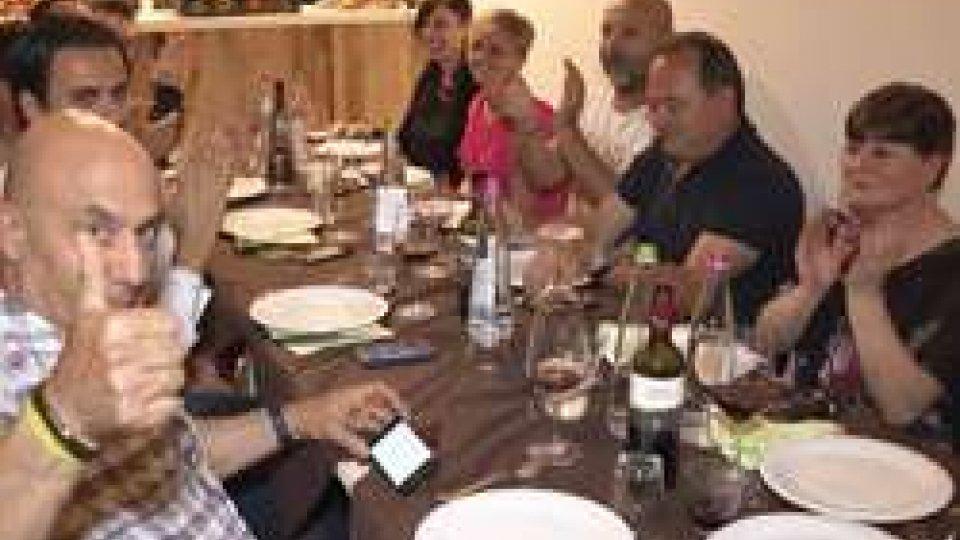 La cena a VentosoCena di solidarietà per Bryan Toccaceli