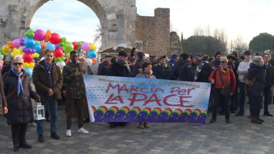 """Rimini: numerosi i partecipanti, oggi, alla """"Marcia della Pace"""""""