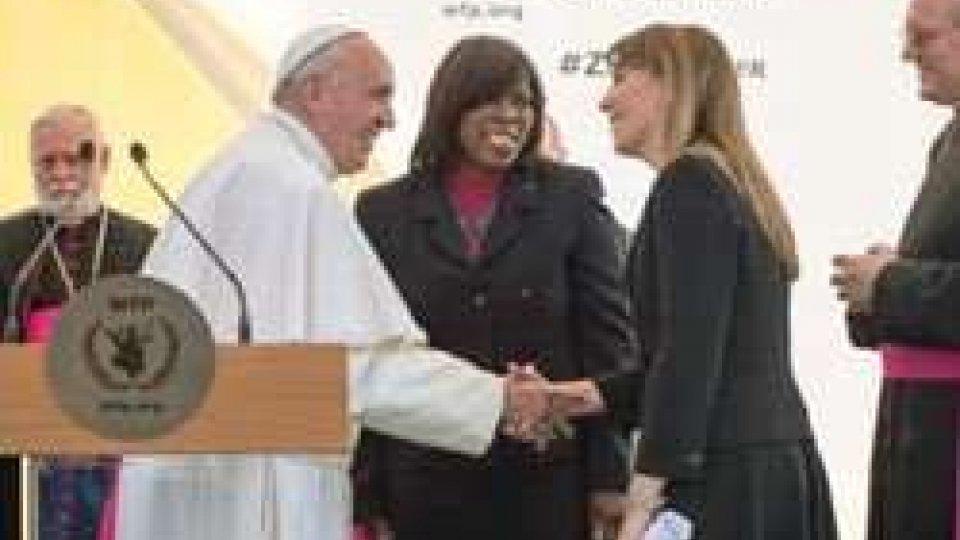 Papa Francesco alla Fao