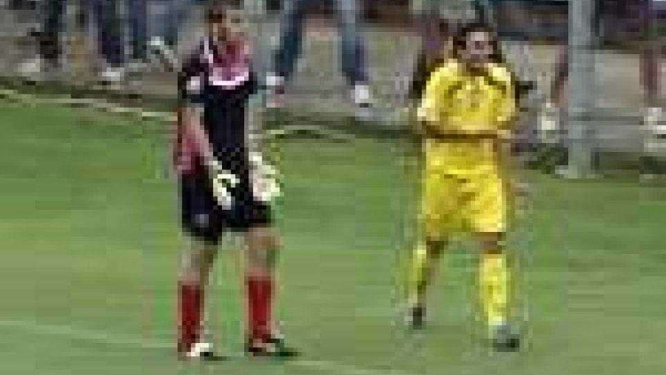 Lega Pro. Viareggio sconfitto a tavolino. Squalificato Del Duca del San Marino