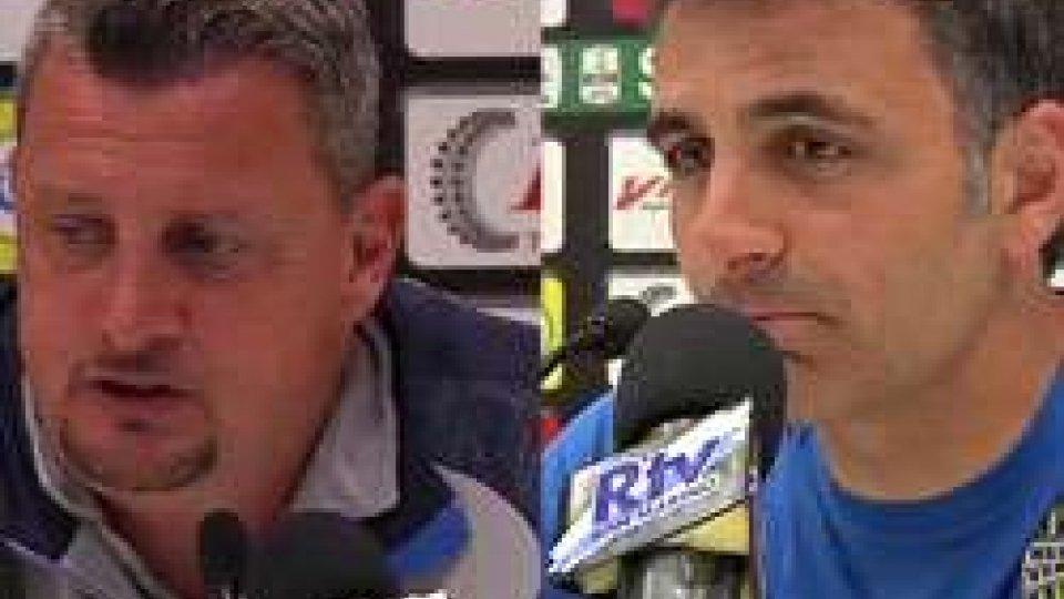 Andrea Camplone e Fabio PecchiaCesena-Verona 0-0