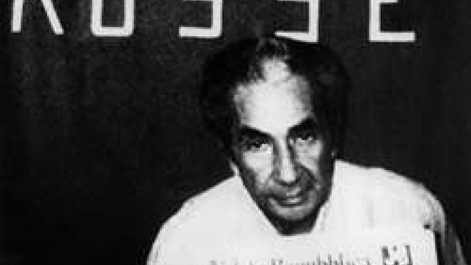 Aldo Moro nella foto diffusa dalle BR
