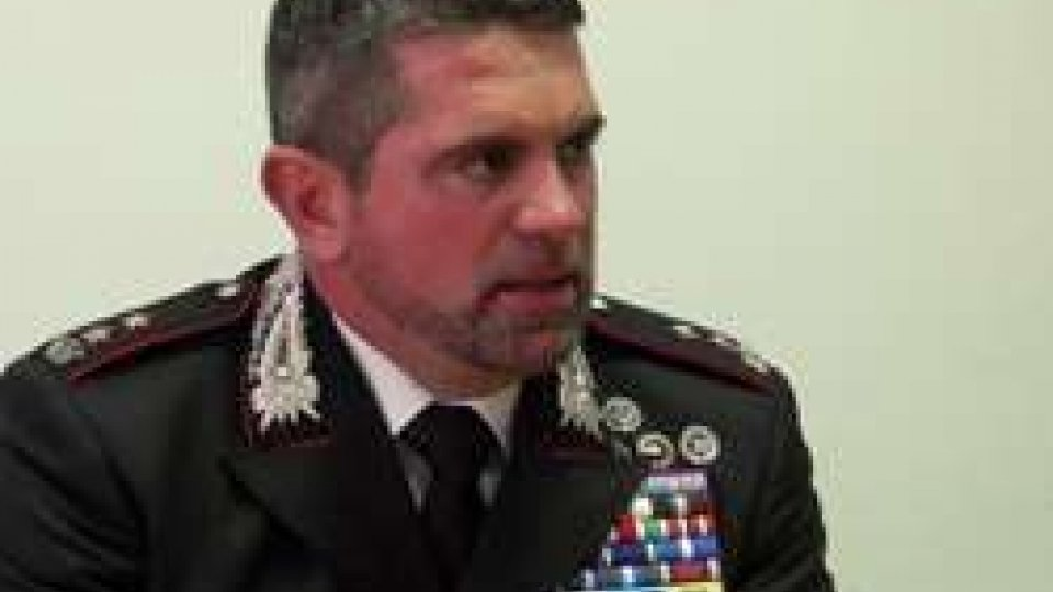 Giuseppe SportelliCarabinieri Rimini: il nuovo comandante Sportelli si presenta alla stampa