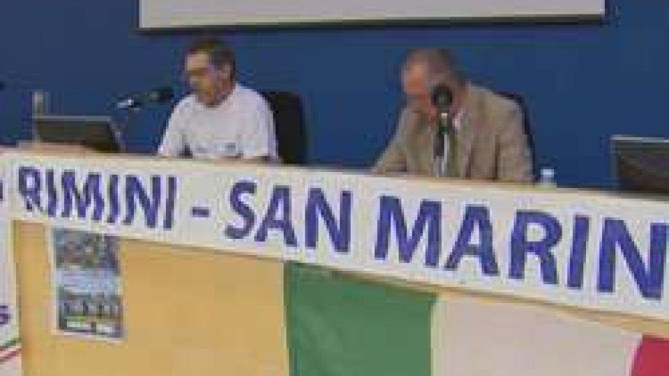 la Conferenza stampaPodistica, record di partecipazioni per la Rimini-San Marino. In gara anche un non vedente