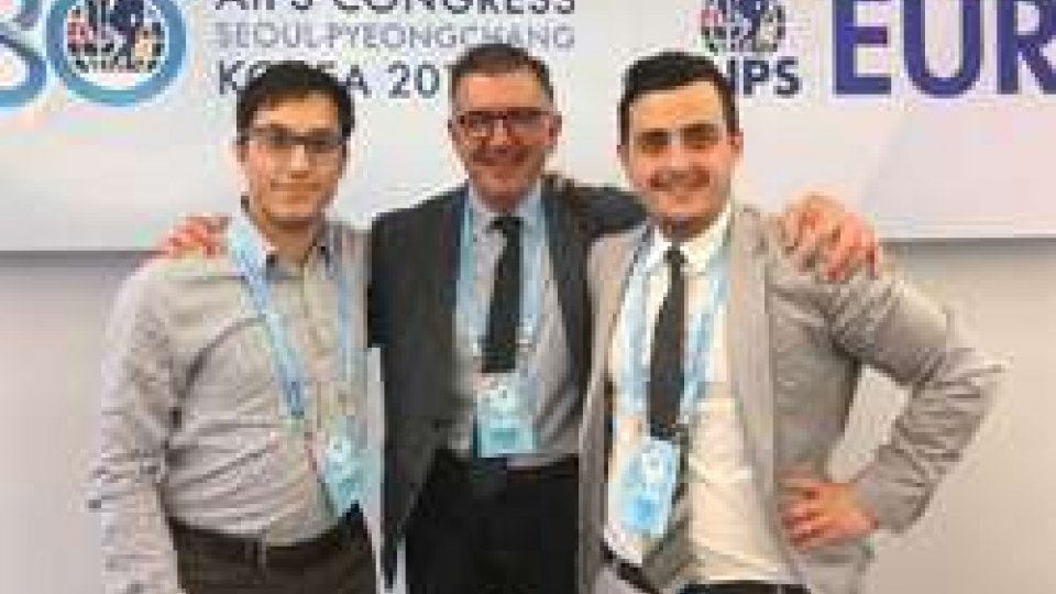 Giacomo Santi, Charles Camenzuli e Luca Pelliccioni