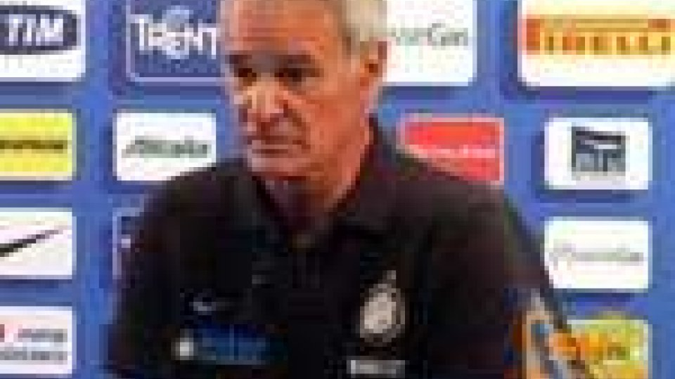 """Inter-Napoli. Ranieri: """"Primo vero esame per l'Inter"""""""