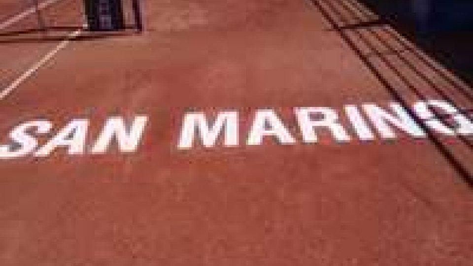 San Marino - Tennis, l'Open maschile a Santi e Bartuccioli