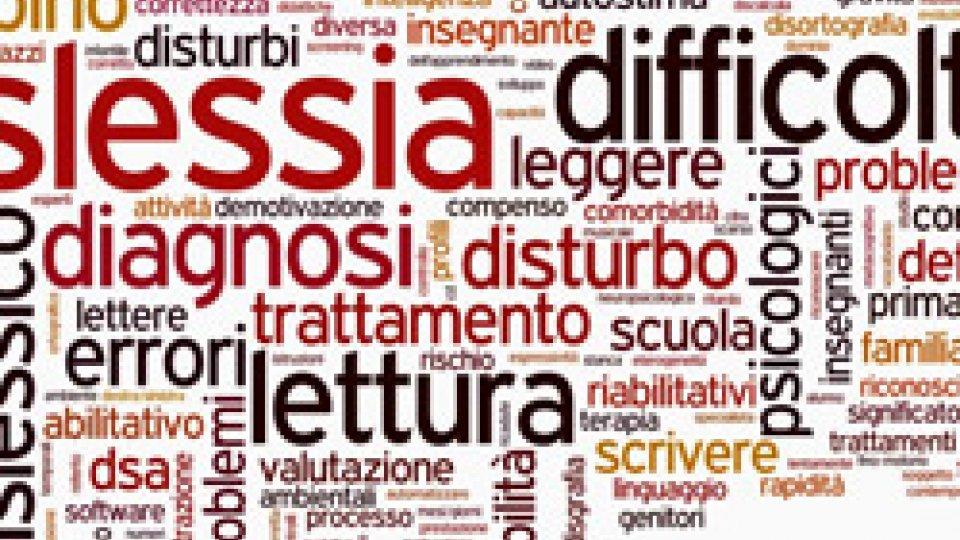 """A Borgo Maggiore l'incontro """"Dislessia, limite o opportunità?"""""""