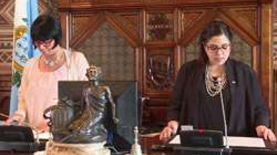 I Capitani Reggenti Mimma Zavoli e Vanessa D'Ambrosio15 Settembre: il messaggio della Reggenza in occasione della Giornata della Democrazia