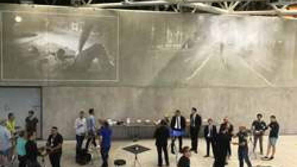 La Germania ha scelto l'Adidas Museum come base per la conferenza stampa pre-partitaLa Germania ha scelto l'Adidas Museum come base per la conferenza stampa pre-partita