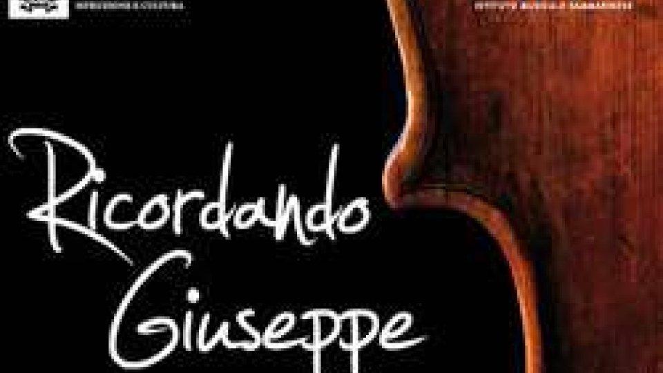 Ricordando Giuseppe, concerto per un amico, mercoledì 19 alle ore 20:30 presso il Teatro  Titano