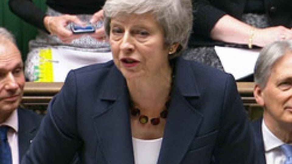 Theresa MayBrexit: seduta cruciale
