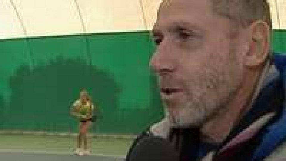 Il C.T delle Nazionali di Tennis Corrado Barazzutti in visita all'Academy San MarinoIl C.T delle Nazionali di Tennis Corrado Barazzutti in visita all'Academy San Marino