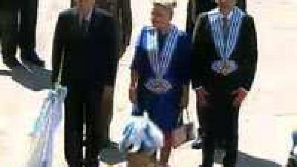 La visita del Presidente Napolitano