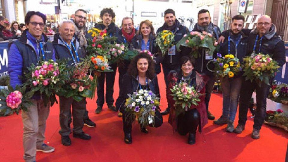 fioristi sanremesiMara Verbena e i suoi fiori dal Natale delle Meraviglie al Festival di Sanremo. Primo passo, 3° Concorso Bouquet