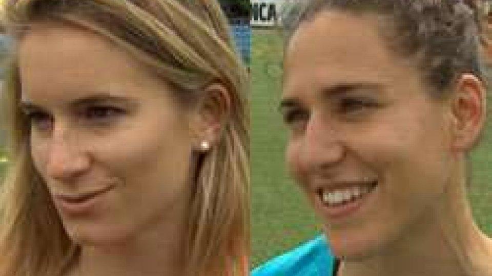 """Emily Shaw e Verónica BoqueteEmily Shaw (UEFA): """"Il calcio femminile italiano ha buone potenzialità"""""""