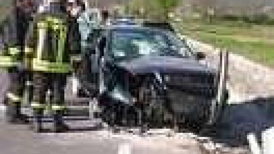 Incidente a Chiesanuova, grave ventinovenne rumena