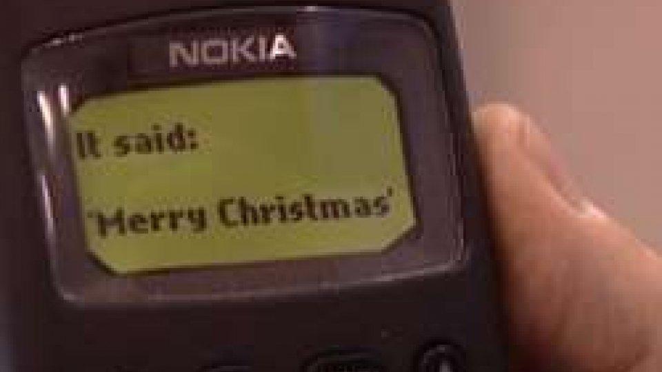 Il primo sms