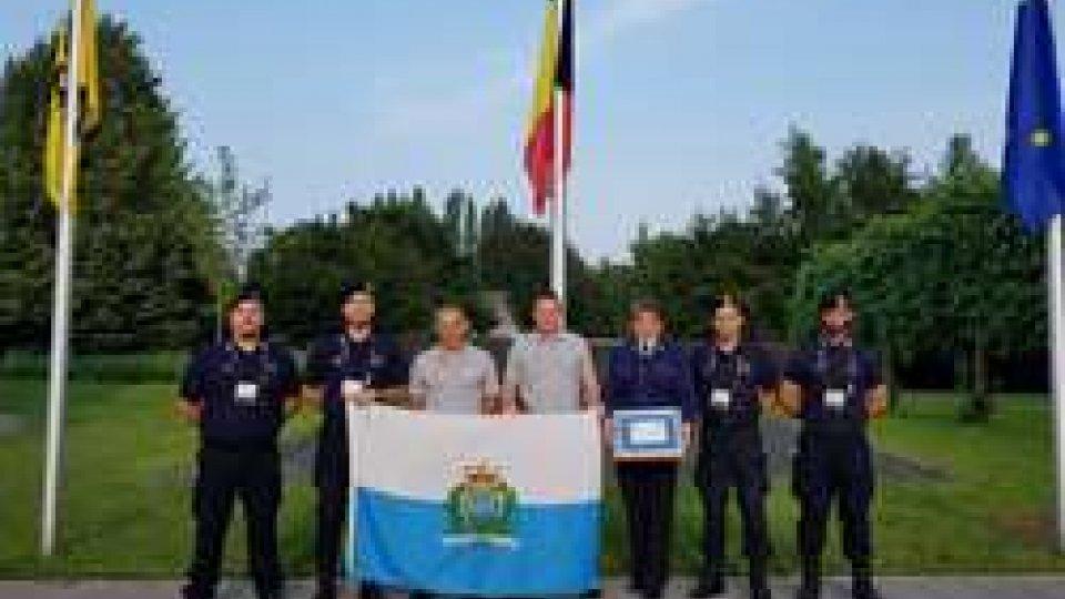 La Guardia di Rocca eccelle in Belgio al corso antiterrorismo