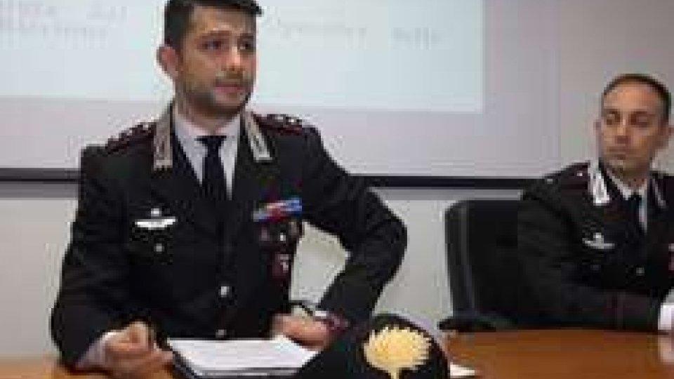 Conferenza stampa Cc RiccioneAnziana aggredita per un rolex a Riccione: due arresti dopo due anni
