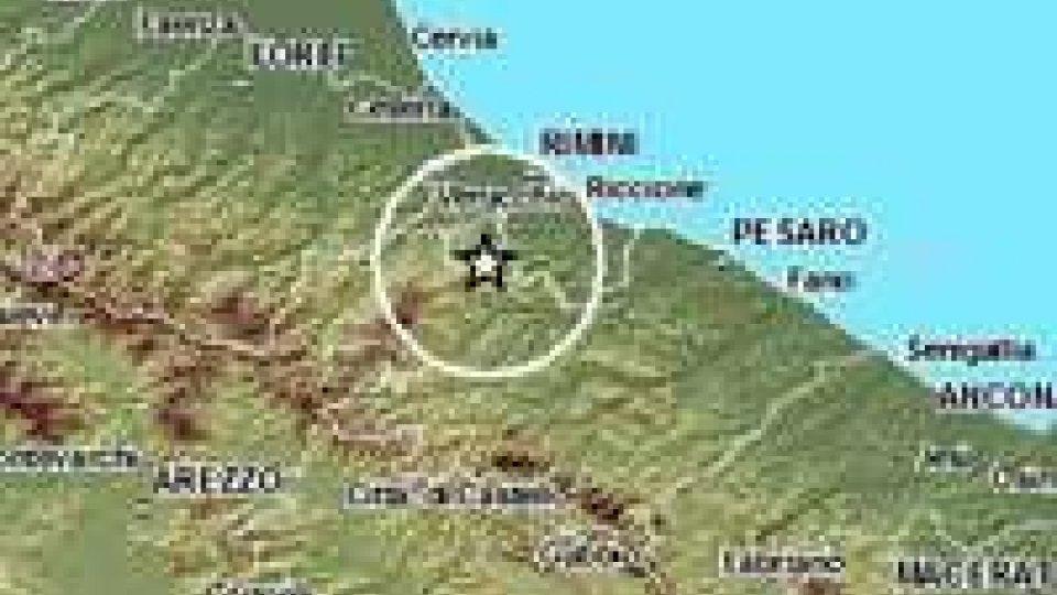 Terremoto di magnitudo 2.7 avvertito anche a San Marino