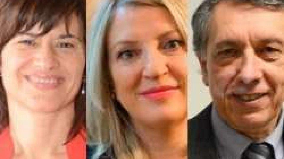 Antonella Mularoni, Valeria Ciavatta e Mario VenturiniAntonella Mularoni, Valeria Ciavatta e Mario Venturini non si ricandideranno. Domani la presentazione ufficiale della Coalizione