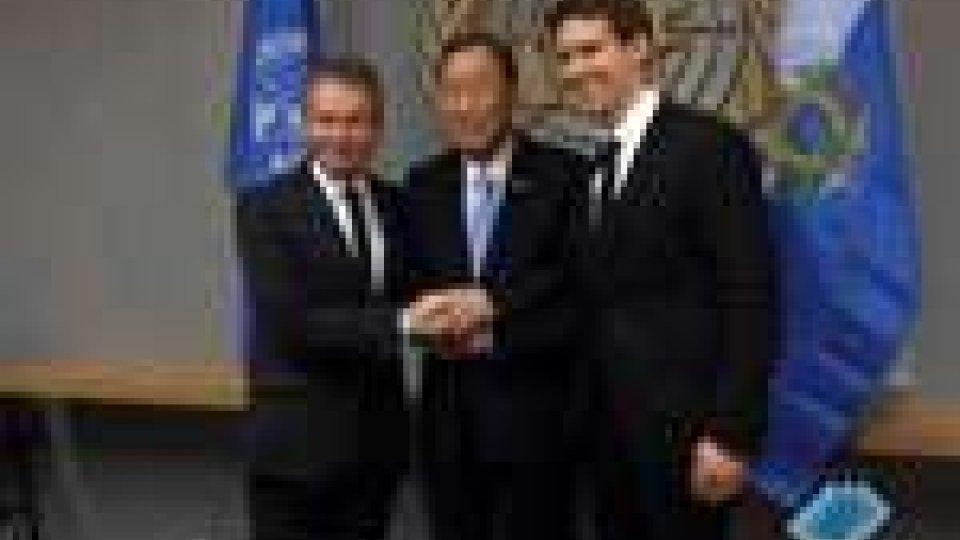 San Marino - La Reggenza a colloquio con Ban Ki-moon a New York