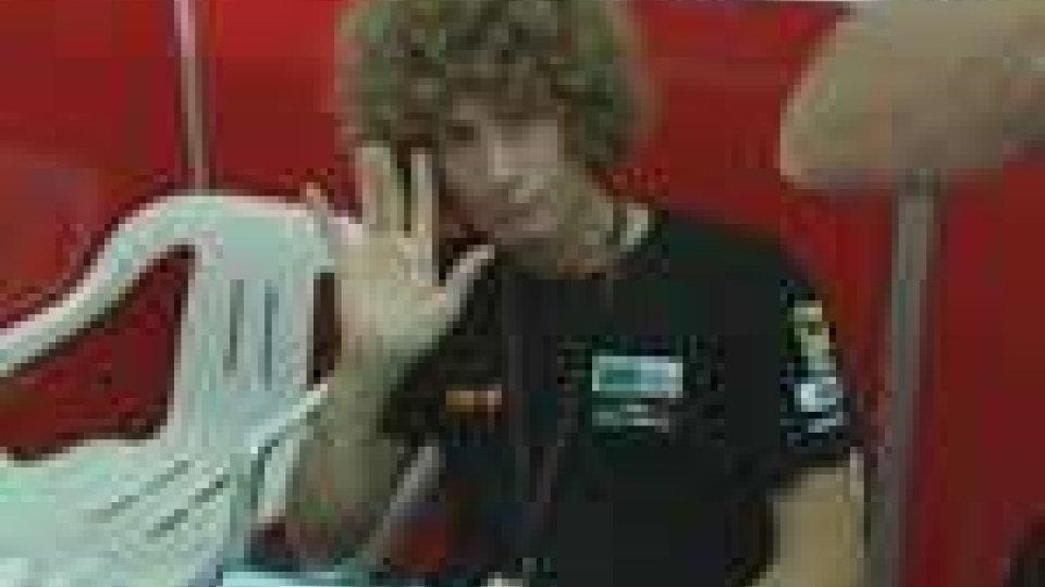 MotoGp: brutto incidente per Simoncelli