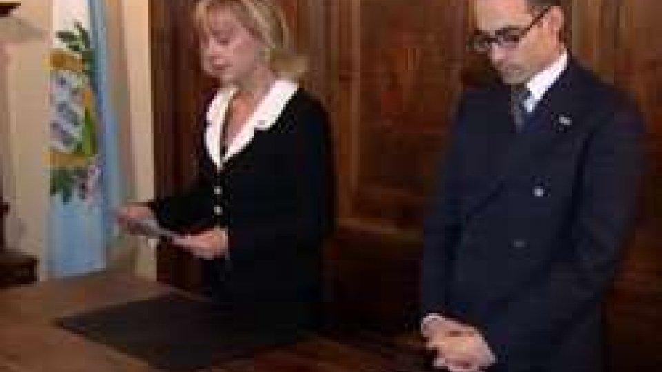 Il messaggio degli Ecc.mi Capitani Reggenti,  Lorella Stefanelli e Nicola Renzi , in occasione delle Festività Natalizie,