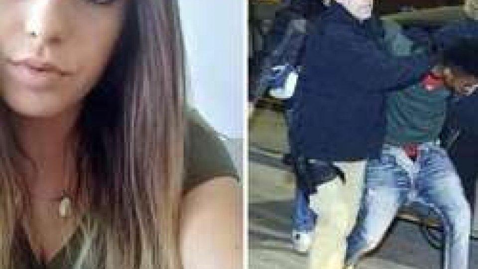 Pamela Mastropietro e l'uomo arrestato con l'accusa di averla uccisa