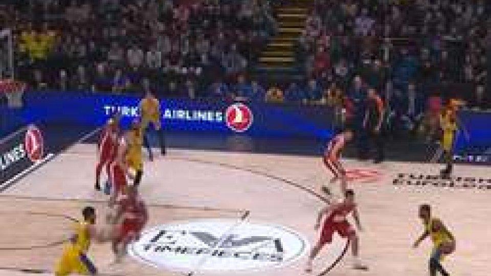 Eurolega: Milano a Barcellona, scontri al vertice con CSKA-Real e Fenerbahce-Olympiacos
