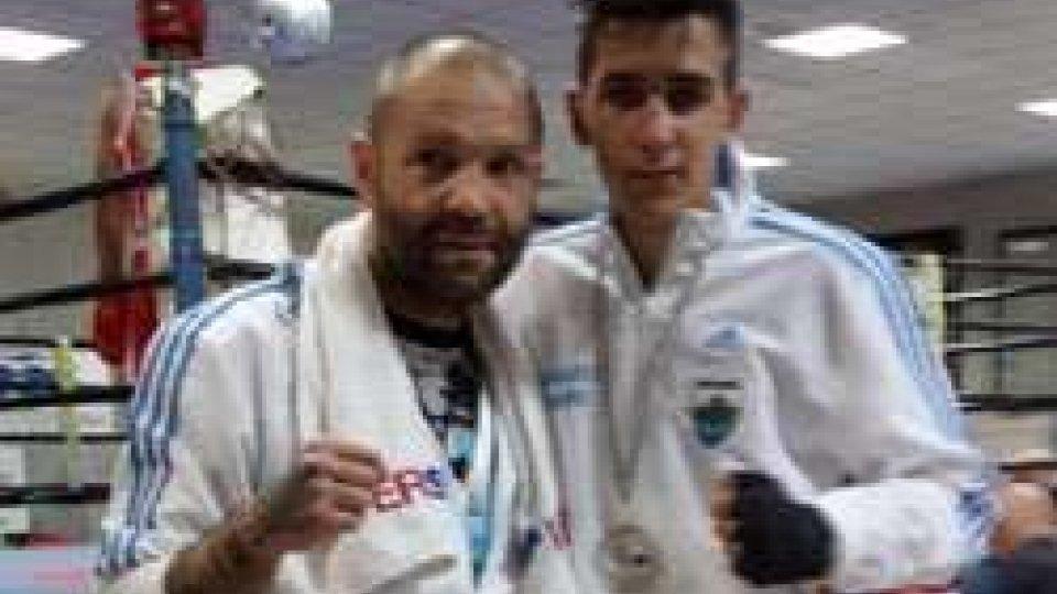 Frisoni e coach Bellotti